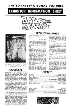 Back to the future Australian Press Sheet