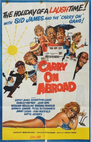 Carry On Abroad Australian One Sheet movie poster (55)