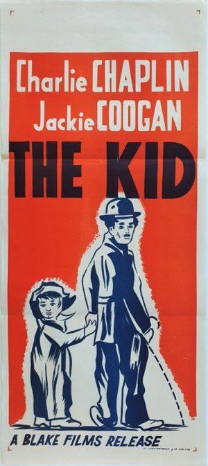 Charlie Chaplin The Kid Australian Daybill movie poster (97)