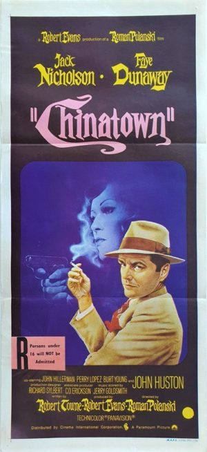 Chinatown Australian Daybill movie poster (119)
