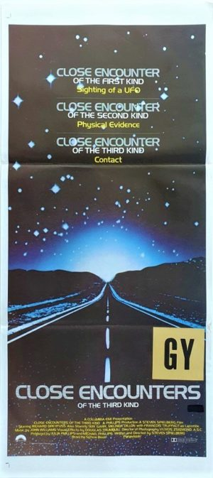 Close Encounters of the Third Kind Australian Daybill Poster (28)