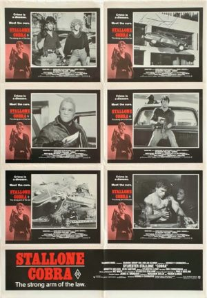 Cobra Australian Lobby Card One Sheet Photo Sheet movie poster (10)