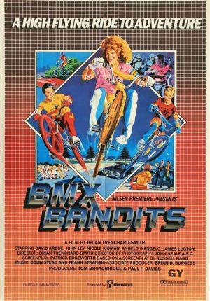 BMX Bandits Australian One Sheet movie poster with Nicole Kidman (8)