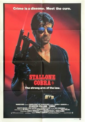Cobra Australian One Sheet movie poster (3) Sylvester Stallone