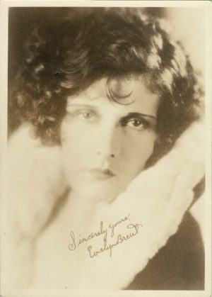 Evelyn Brent 1930's Portrait 5 x 7 (Printed Signature) (4)