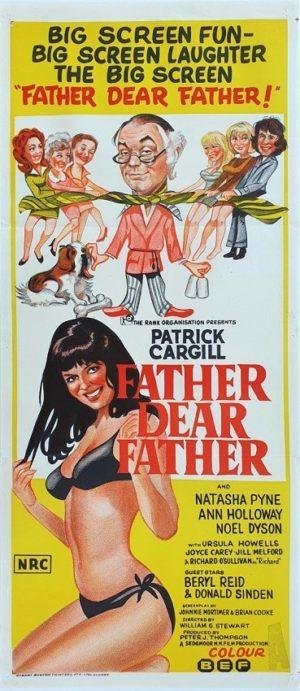 Father Dear Father Australian Daybill movie poster (129)