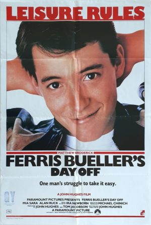 Ferris Bueller's Dayb Off Australian One Sheet movie poster (82)