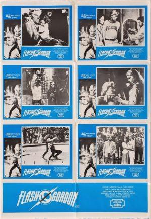 Flash Gordon Queen Australian Lobby Card Photosheet One Sheet movie poster (107)