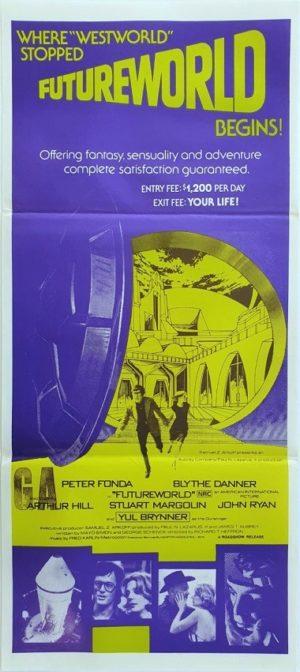 Futureworld Australian Daybill Poster (29)