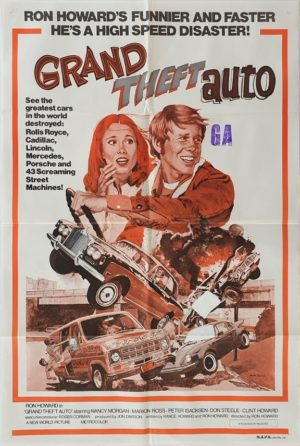 Grand Theft Auto Australian One Sheet movie poster with Ron Howard (3)