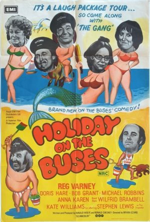 Holiday On The Buses Australian One Sheet movie poster (19)