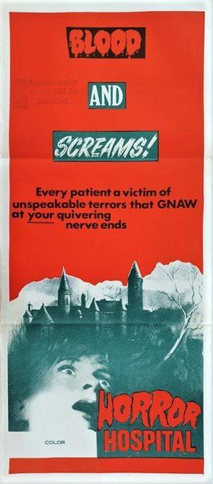 Horror Hospital Australian Daybill Poster (33)