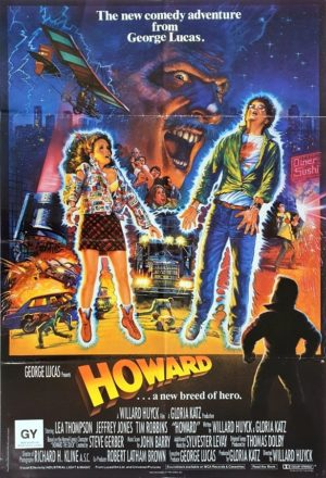 Howard The Duck UK One Sheet movie poster (86)