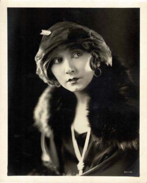 Mae Busch 1920's portrait by Clarence Sinclair Bull 8 x 10