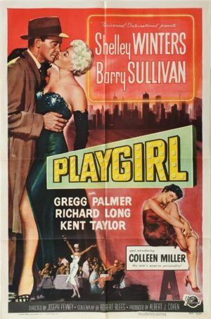 Playgirl US One Sheet movie poster with Shelley Winters (4)