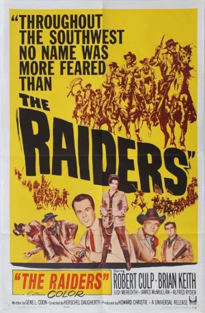 Raiders US One Sheet western movie poster (6)
