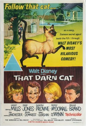 That Darn Cat Walt Disney Australian One Sheet movie poster (46)