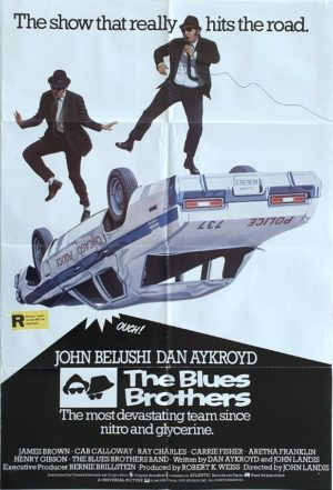 The Blues Brothers UK One Sheet movie poster (48)