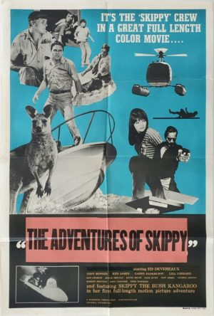 The Adventures of Skippy Australian One Sheet movie poster (19)