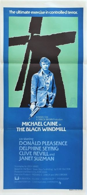 The Black Windmill Australian Daybill movie poster (111)
