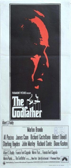 The Godfather Australian daybill movie poster (20)