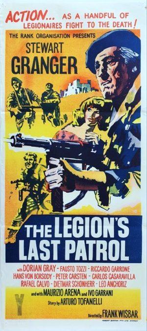 The Legion's Last Patrol Australian Daybill movie poster (97)