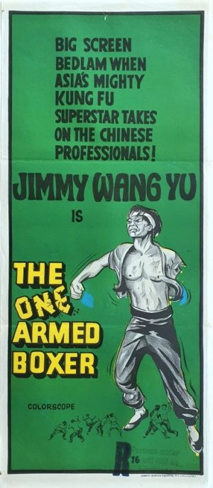 The One Armed Boxer Australian daybill movie poster (22)