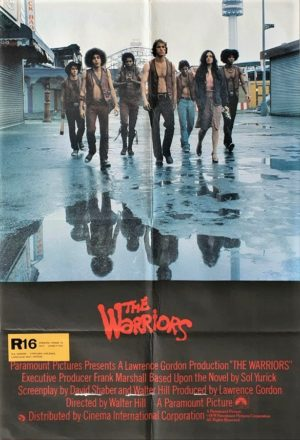 The Warriors UK One Sheet movie poster (29)