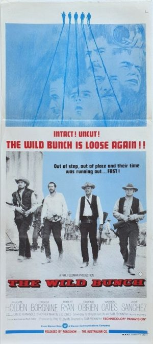The Wild Bunch Australian Daybill movie poster (148)