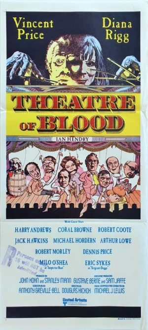 Theatre of Blood Australian Daybill Poster (27)