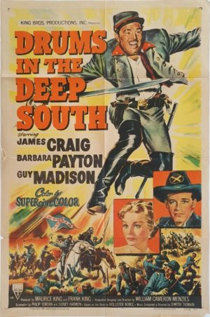 Drums of the Deep South US One Sheet movie poster (1)