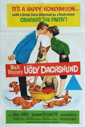 The Ugly Dachshund Walt Disney Australian One Sheet Movie Poster (18)