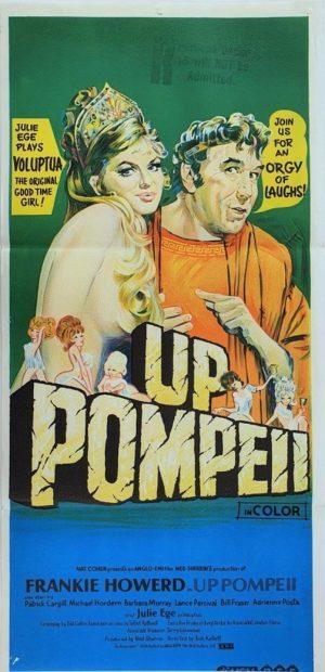 Up Pompeii Australian Daybill movie poster (139)