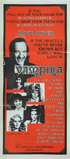 Vampira Australian Daybill movie poster (130)