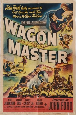 Wagon Master US One Sheet movie poster western by John Ford (7)