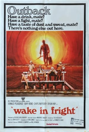 Wake In Fright Australian One Sheet Movie Poster (3)