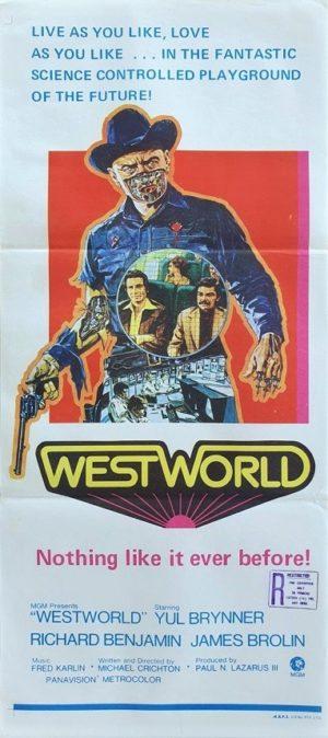 Westworld Australian Daybill Poster (17)