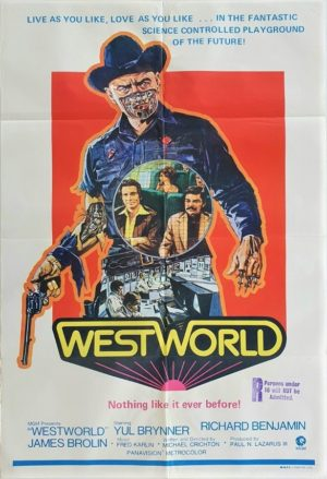 Westworld Australian One Sheet movie poster (25)