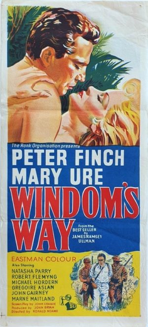 Windom's Way Australian Daybill movie poster with Peter Finch (185)
