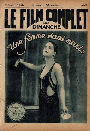 A Slave of Fashion Une Femme Sans Maris Le Film Complet French Film Magazine 1927 wth Norma Shearer (1)
