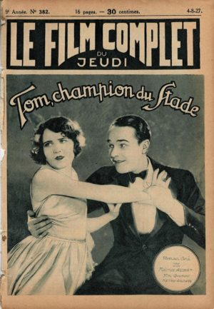 Brown of Harvard Tom, champion du Stade Le Film Complet French movie magazine 1927 (4)