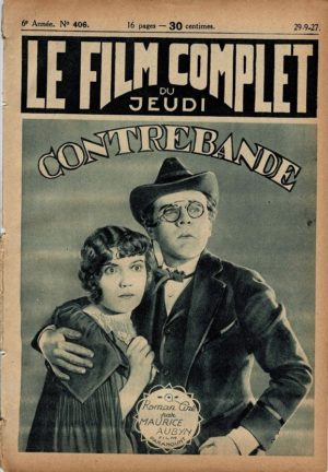 Contraband Le Film Complet French movie magazine 1927 with Lois Wilson (2)