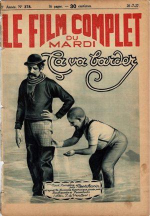 Dødsbokseren Ça va barder Doublepatte & Patachon Fyrtårnet og Bivognen Le Film Complet 1927 French movie magazine (22)