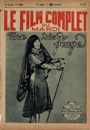 Footloose Windows Le Film Complet French Film Magazine 1927 Louise Fazenda (3)