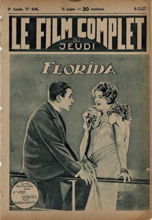 Good and Naughty Florida Le Film Complet French Film Magazine 1927 with Tom Moore and Pola Negri (1)
