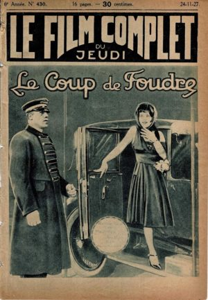 It Le coup de foudre Le Film Complet French movie magazine 1927 with Clara Bow (2)
