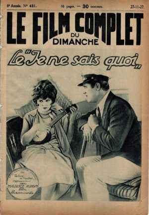 It Le coup de foudre Le Film Complet French movie magazine 1927 with Clara Bow (4)
