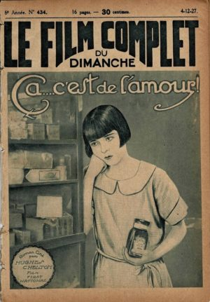 It Must Be Love Ça... c'est de l'amour Le Film Complet French movie magazine 1927 with Colleen Moore (3)