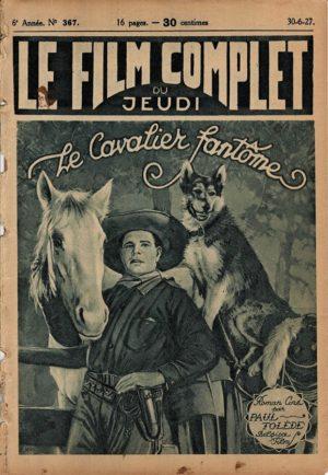 Le cavalier de minuit Le cavalier fantôme Le Film Complet French movie magazine 1927 (13)