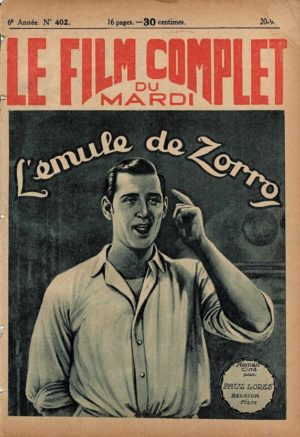 L'emule De Zorro Le Film Complet French Film Magazine 1927 (12)